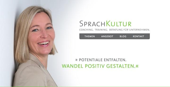Neue Webseite - Susann Bänder - SprachKultur Stuttgart